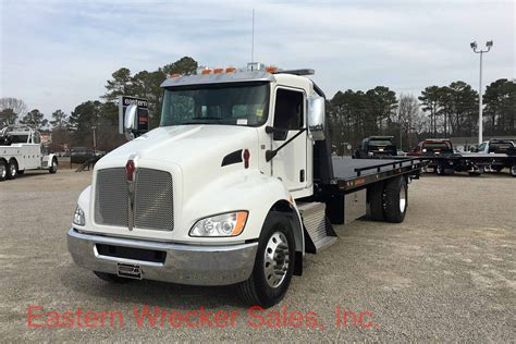kenworth medium duty 2017 kenworth t370 with jerr dan 24 steel 8 5 ton steel