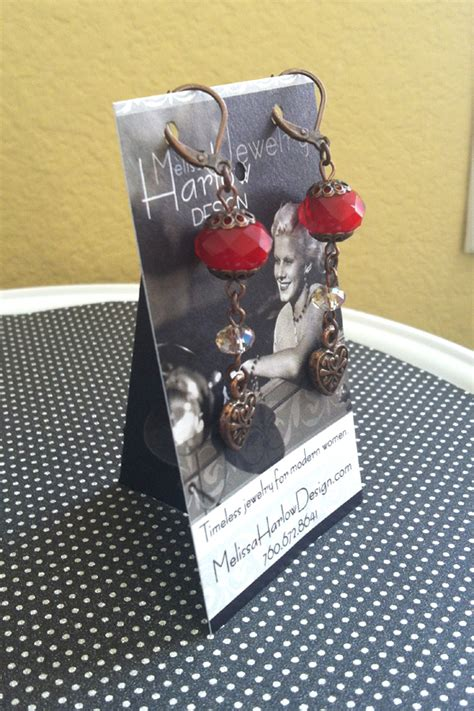 how to make jewelry cards earring display card stands jewelry journal