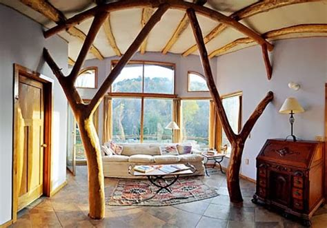living room treehouse foundation dezin decor tree house interior design