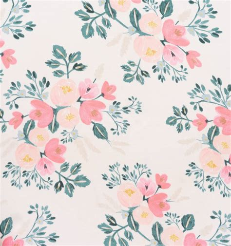 rifle paper company wallpaper peony dress peach blossom by rifle paper co imported