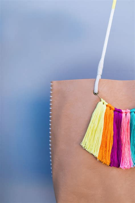Where To Buy Chain For Jewelry Making - diy tassel tote bag tell love and party