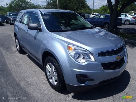 2014 silver topaz metallic chevrolet equinox ls 85499693 gtcarlot car color galleries