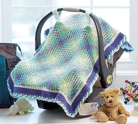 infant car seat slipcover pattern yarn pooling baby car seat cover crochet pattern craftfoxes