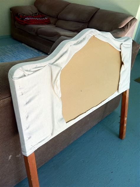 How To Upholster An Existing Headboard by Comfortable Furniture Recovering A Headboard