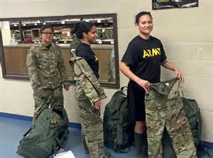 recruits receive new army uniforms as rollout continues