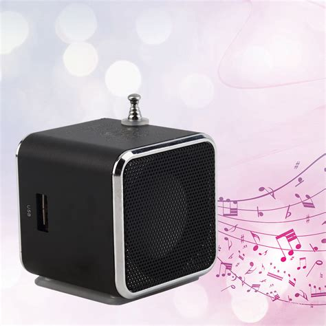 Lu Led Speaker portable tf usb mini stereo speaker player fm radio