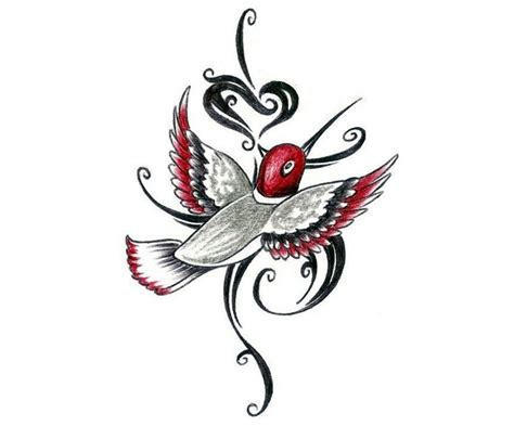 tribal hummingbird tattoo hummingbird designs home shop summer tattoos
