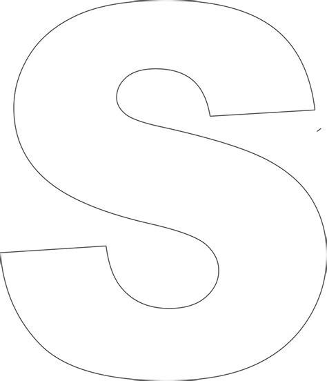 Free printable alphabet template s jpg free printable alphabet