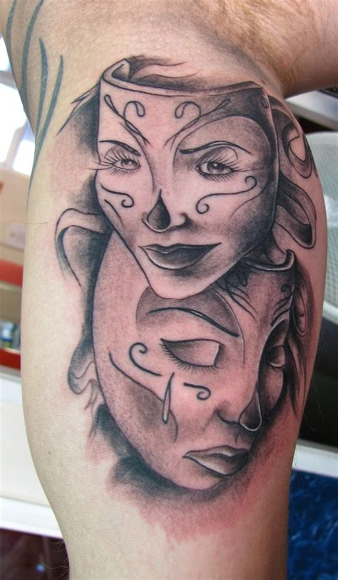 comedy and tragedy tattoo 123 best images about comedy tragedy masks on