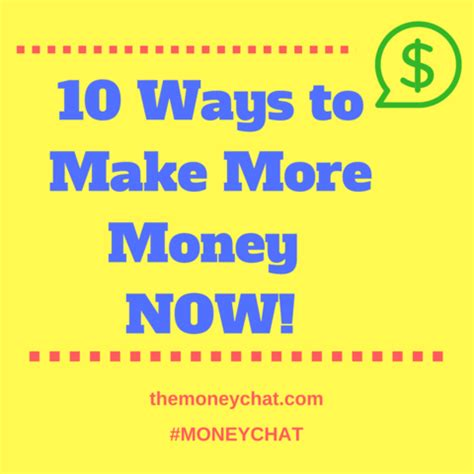 10 Ways To Make Money While Out Of Work by 10 Ways To Earn Money Now Moneychat