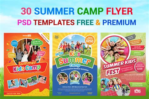 summer c flyer template free 30 summer c flyer psd templates free premium designyep