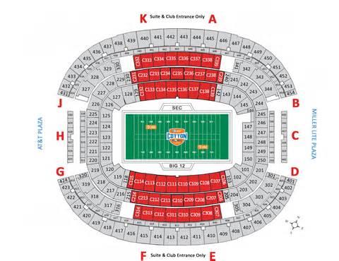 Cowboys stadium basketball seating of the stadium this year