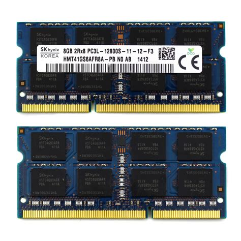 Laptop Ram 8gb top f sk hynix 8gb 2rx8 pc3l 12800s 1600mhz ddr3 hmt41gs6afr8a laptop ram memory ebay