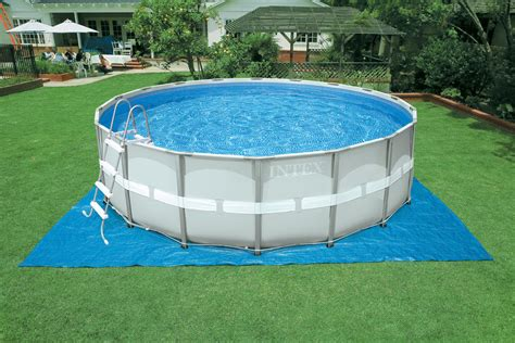 intex 16ft x 48in ultra frame pool set with sand filter