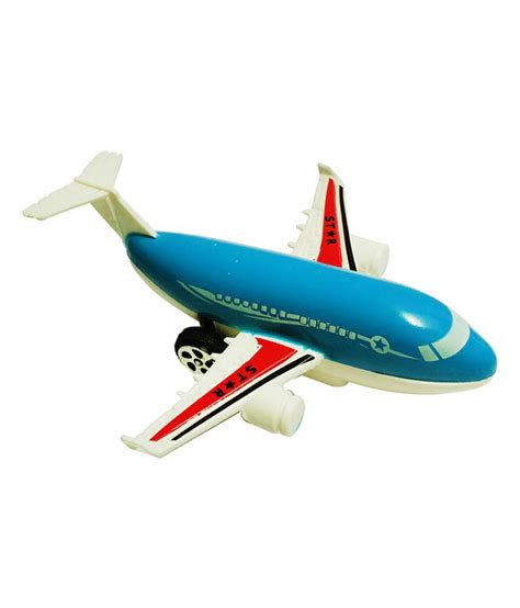abhika studio blue aeroplane friction toy buy abhika