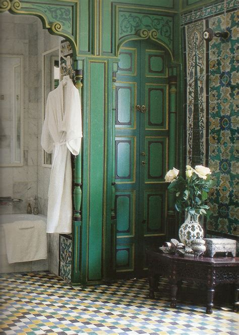 moroccan themed bathroom using turkish moroccan and the beauty of boiserie paint pattern