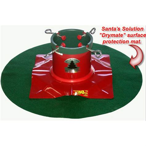 elevated christmas tree stand santa s solution artificial tree replacement