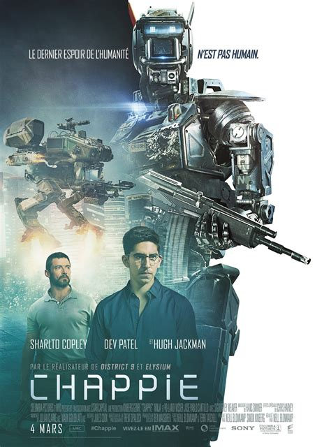 quotes film chappie first look dev patel and hugh jackman in chappie