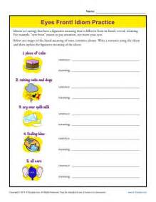idiom worksheets for 5th grade abitlikethis