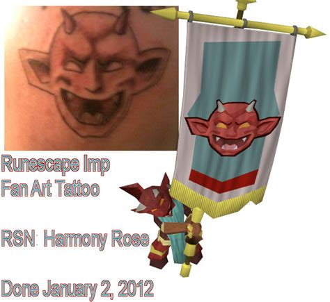 imp tattoo runescape imp fan by hollowfyre on deviantart