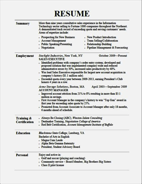 Resume Sections by Cv Sections Tell Us About Other Skills Resume Template