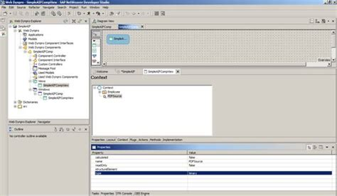 tutorial java web dynpro saptechnical com simple abode interactive form in web
