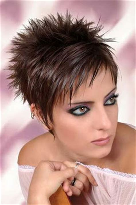 spikey hairstyles for women over 45 with fat face des coiffures pour femmes cheveux courts 2012 2013