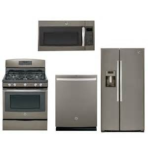 ge kitchen appliance packages ge slate gas kitchen package