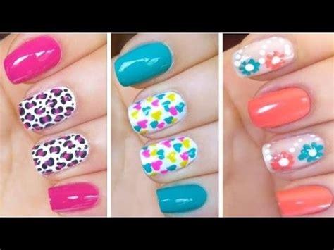 imagenes uñas decoradas de moda u 241 as decoradas con esmalte f 225 ciles de hacer moda