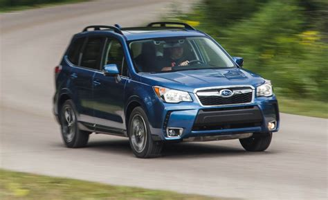 Subaru Forester Xt Review by 2016 Subaru Forester 2 0xt Test Review Car And Driver