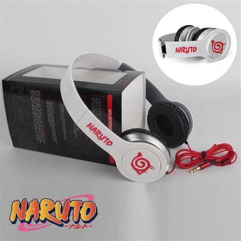 Headphone Akatsuki Headphone Itachi Earphone Headset Anime headphone with box free shipping worldwide
