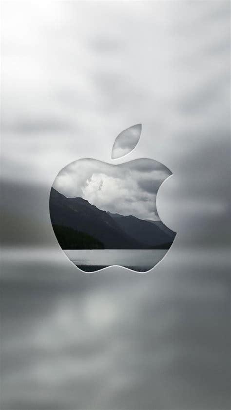 wallpaper apple untuk iphone モノトーンapple iphonex スマホ壁紙 待受画像ギャラリー