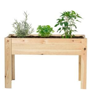 outdoor essentials      raised garden bed kit