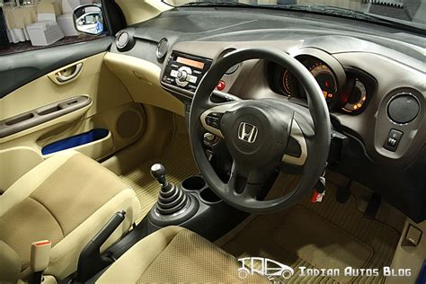 honda brio interiors honda brio reviews high resolution pics and report