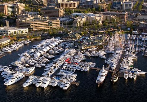 boat show west coast seattle boats afloat is largest floating boat show on west
