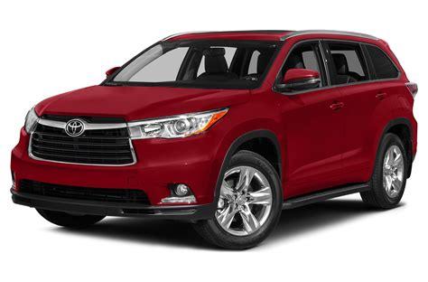 2015 Toyota Suv 2015 Toyota Highlander Price Photos Reviews Features