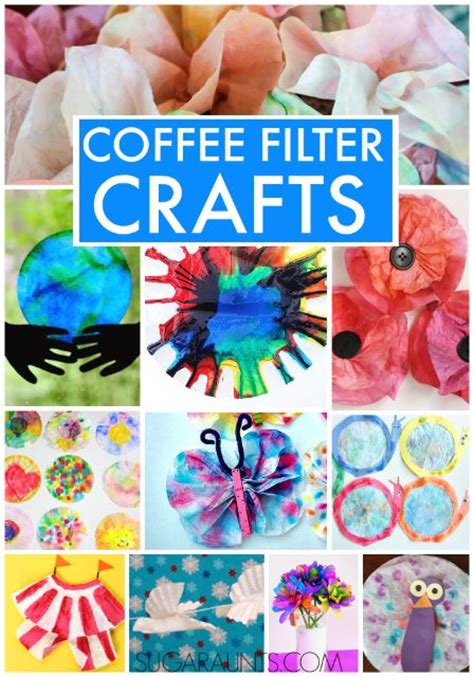 coffee filter crafts for coffee filter crafts coffee filter flowers flower and