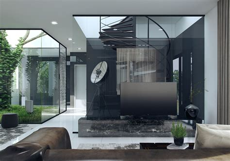 interior glass walls for homes 3 interior concepts with floor to ceiling windows