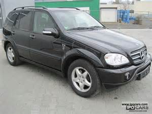 2002 mercedes ml 500 amg car photo and specs