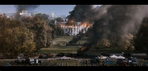 the house is on fire white house down trailer 1 review tim s film reviews
