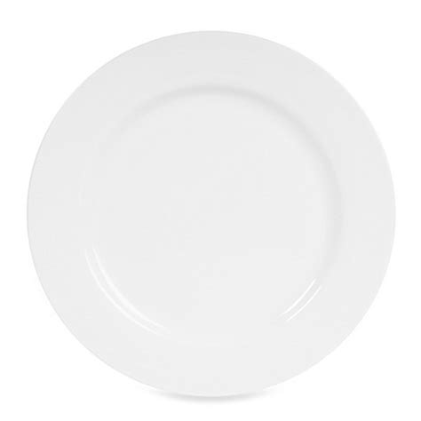 bed bath and beyond dinner plates nevaeh white 174 by fitz and floyd 174 rim dinner plate bed