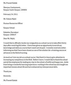 practitioner contract template sle resignation letter