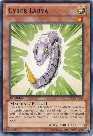 cyber structure deck cyber larva yugioh structure deck cyber