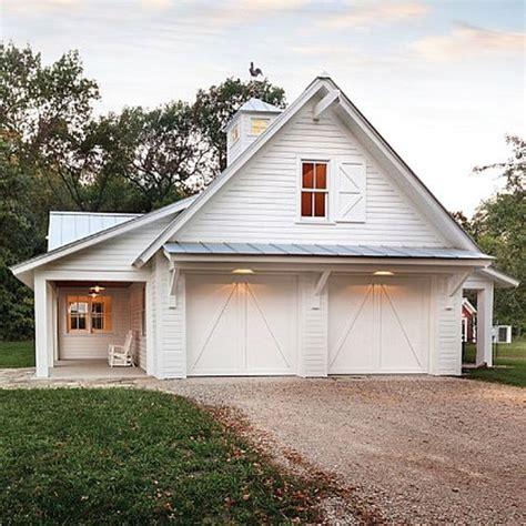 barn garage designs garage inspiration white houses pinterest
