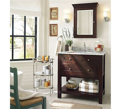 pottery barn bathrooms pictures copy cat chic pottery barn classic sink console