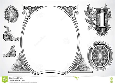 money dollars and design elements vector vector money elements royalty free stock images image