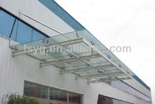 awning glass roof glass roof awning material yg c08 buy awning material