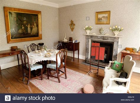 georgian home interiors georgian house interior the drawing room rosehill house the darby stock photo royalty free