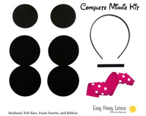 How To Make Mickey Mouse Ears With Construction Paper - mickey mouse ears template headband cliparts co