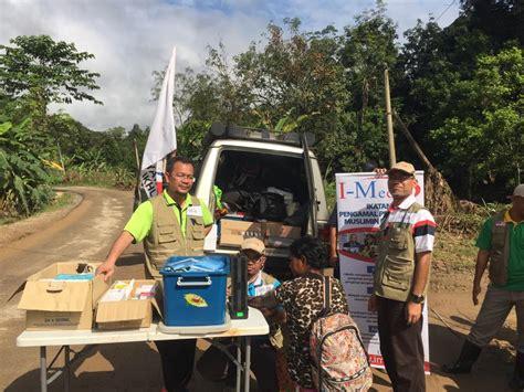 misi bantuan perubatan kemanusian mangsa banjir pedalaman gua musang